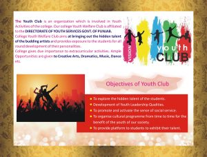 About Youth Club