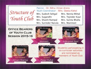 Structure of Youth Club