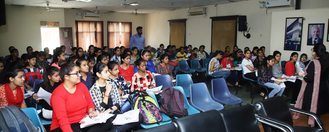 Placement Cell organizes workshop on Personality Development