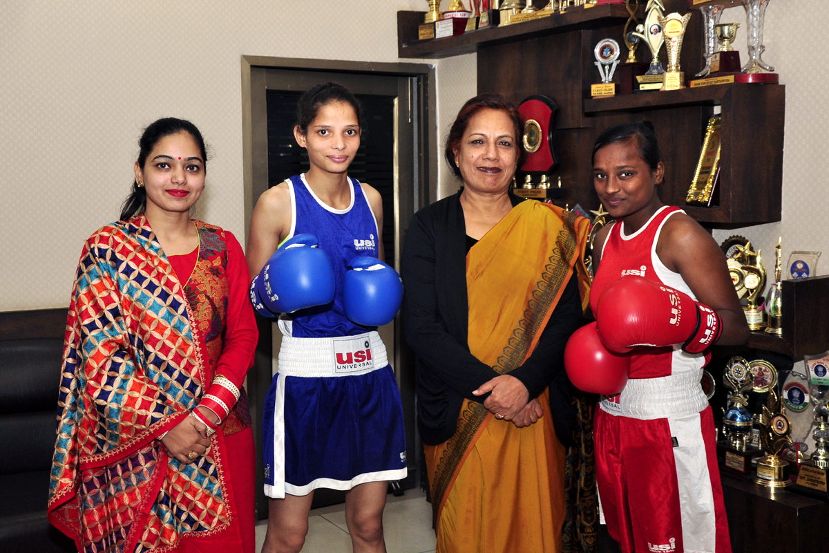 Judo Players laurels to the institution
