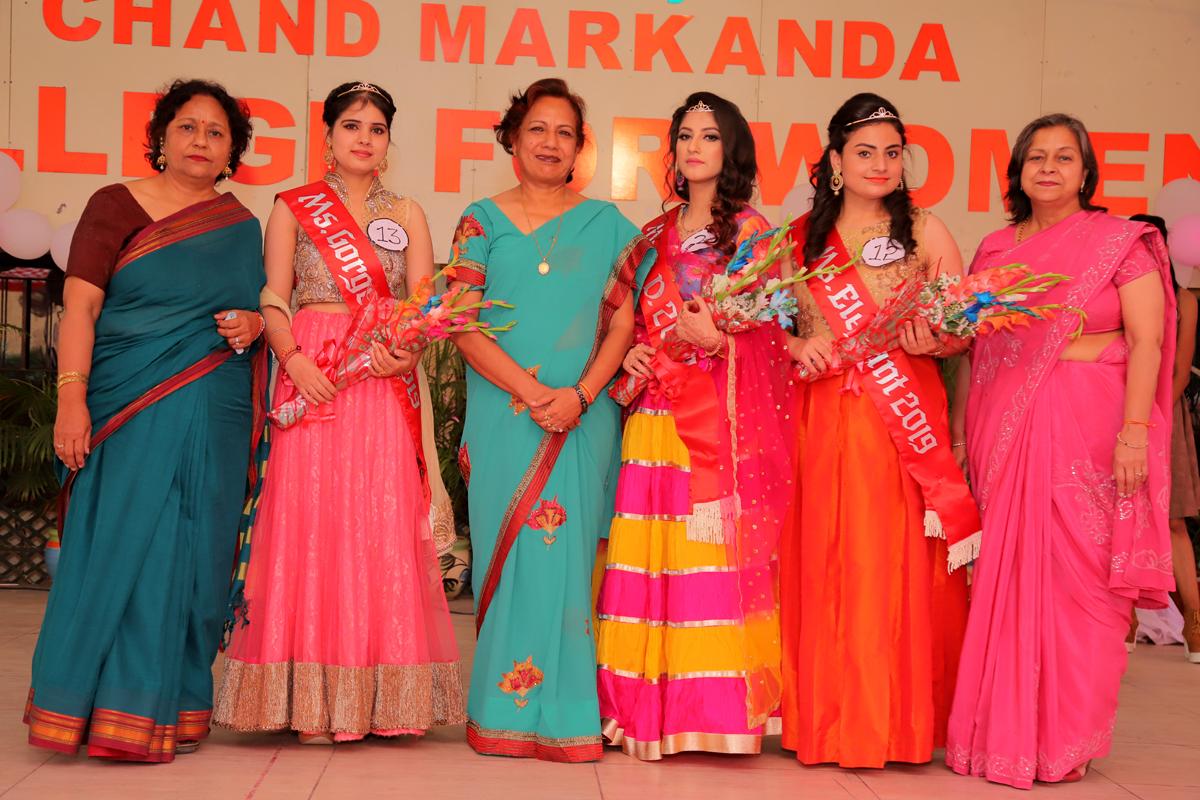 45th Farewell Party: Muskan Sharma and Temina chosen Miss S.D.