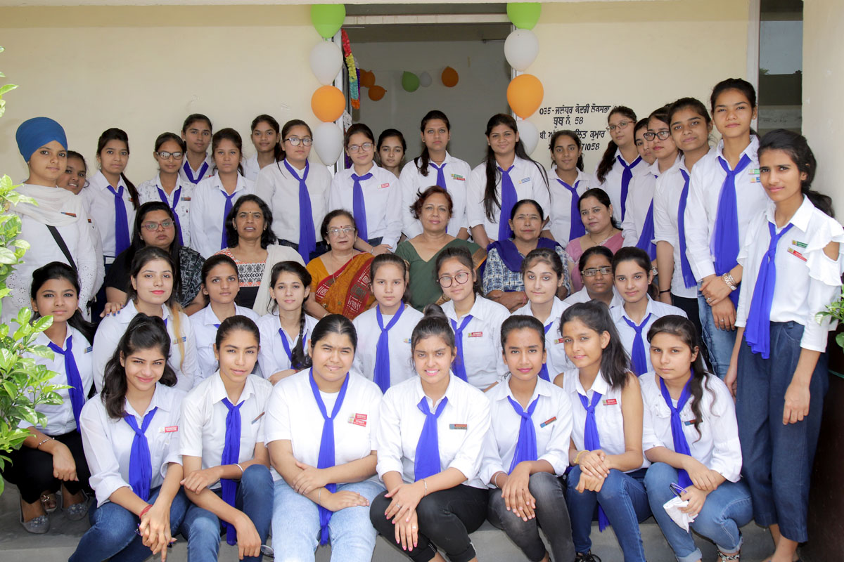 Ms. Lakshmi is declared Head Girl and Ms. Astha as President of Youth Club of PCM S.D. Collegiate School