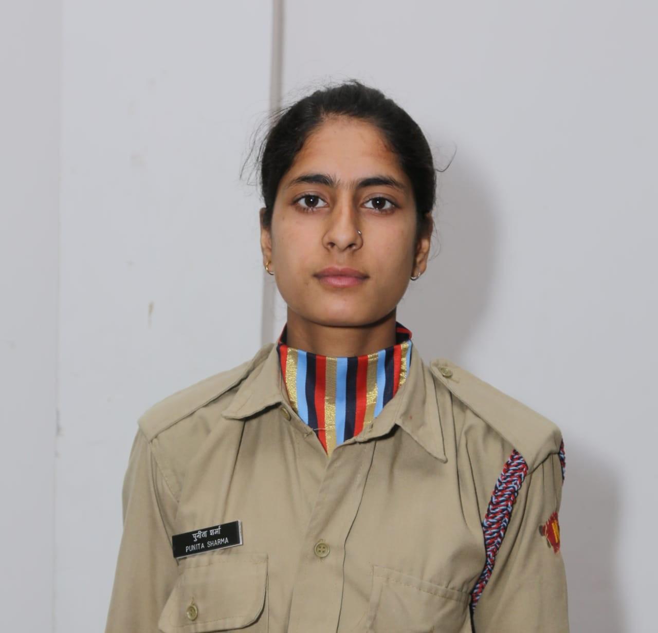 NCC Cadet Punita Sharma represent Punjab, Haryana, Himachal and Chandigarh at Mountaineering Expedition 2019