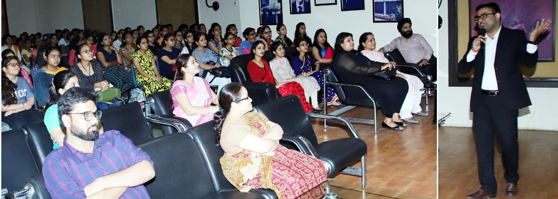 PG Department of Commerce & Management of PCM SD College for Women, Jalandhar holds seminar on 'Acturial Valuation'