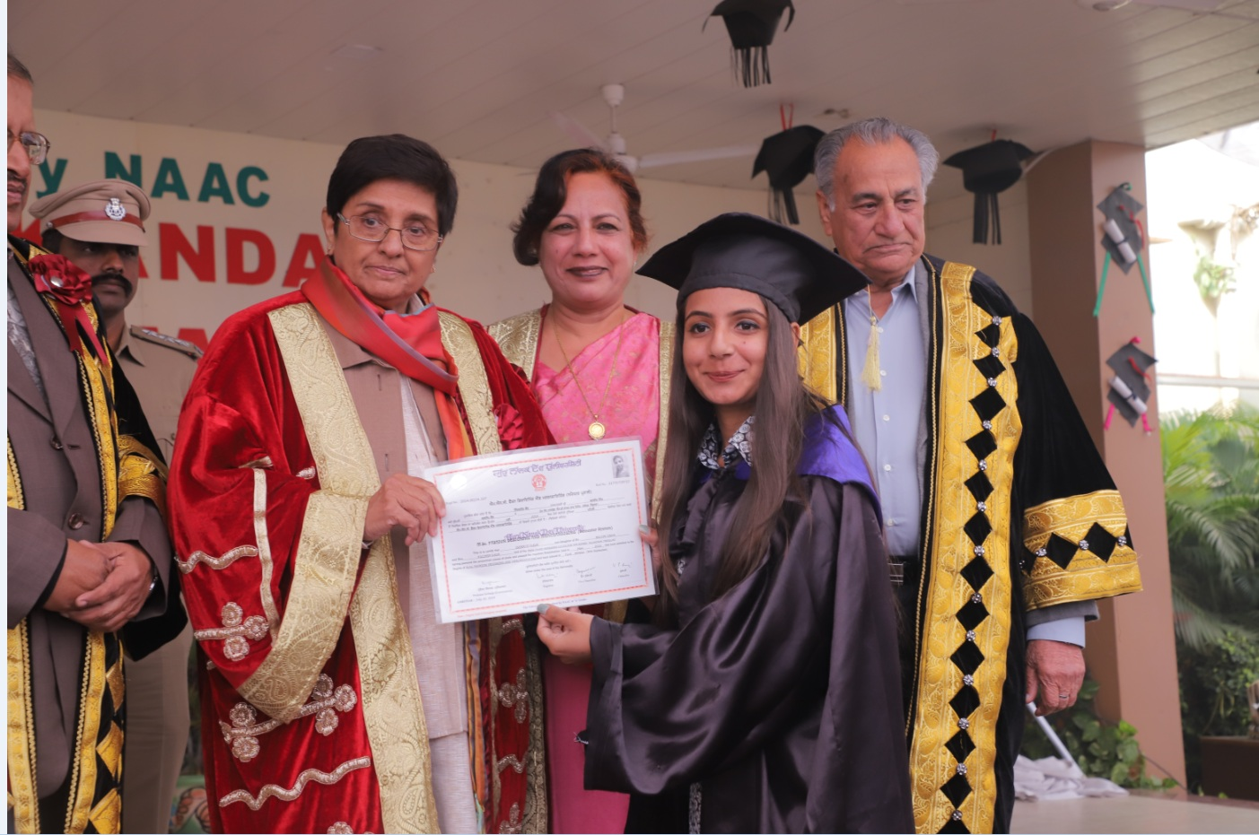 Prem Chand Markanda S.D. College for Women holds 45th Convocation